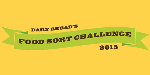 Point Alliance proudly sponsors Daily Bread 2015 Food Sort Challenge