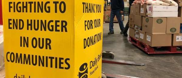 Point Alliance helps to raise over $8,000 in support of Daily Bread Food Bank